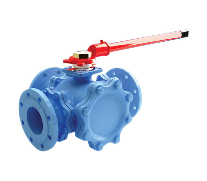 JC Valves 8211 Fig 915 3Way Full Bore Ball Valve