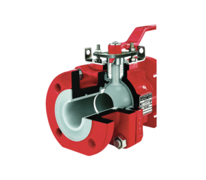Richter  KN PFA Fully Lined Ball Valves