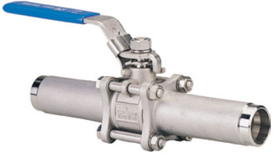 VAC 8211 3 Piece Ball Valves