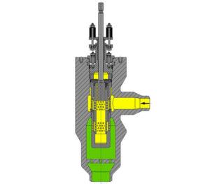 Arca 8211 350  380 Angle Control Valve