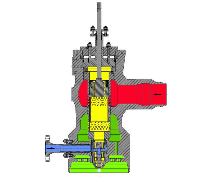 Arca 8211 500 PRDS Steam Conditioning Valve