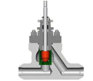 Arca 8211 190 Forged Steel Globe Control Valve