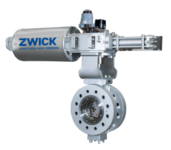 Zwick 8211 TriCon Triple Offset Valves TOV
