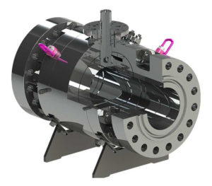 Pibiviesse 8211 Side Entry Trunnion Mounted
